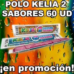 PROMO WEB POLO KELIA 2 SABORES 60 UD
