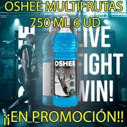 PROMO WEB OSHEE ISO MULTIFRUTAS 750 ML 6 UD