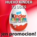 PROMO WEB HUEVO KINDER 72 UD