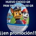 PROMO WEB HUEVO CHOCO GR PATRULLA CANINA 24x50 GR