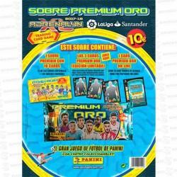 CARTON-PREMIUM-ORO-ADRENALYN-1-SOBRE-17-18-PANINI