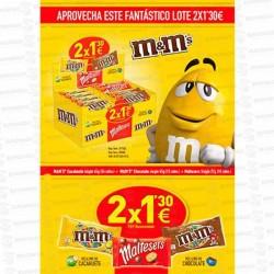 LOTE MARS M-M Y MALTESER 2x1,30€