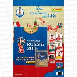 CARTON ALBUM WORLD CUP RUSSIA 2018 1 UD PANINI