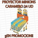 PROMO WEB PROYECTOR MINIONS CARAMELO 24 UD DOLCI