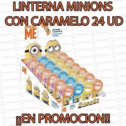 PROMO WEB LINTERNA MINIONS CON CARAMELO 24 U DOLCI