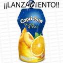 LANZAMIENTO CAPRI SUN MELOCOTON Y NARANJA 15x330ML