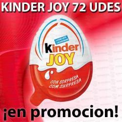 PROMO WEB KINDER JOY 72 UD FERRERO