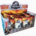 EXPOSITOR 3D SOBRES JURASSIC PARK 24 UD PANINI