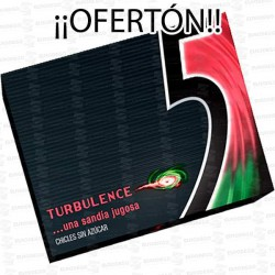 PROMO-CHICLE-FIVE-TURBULENCE-SANDIA-10-UD
