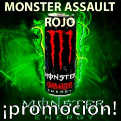 PROMO WEB MONSTER ASSAULT ROJO 24x500 ML