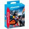PLAYMOBIL-GUERRERO-LOBO-5385