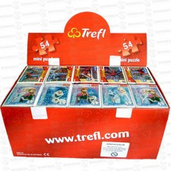 PUZZLES-MINI-54-PIEZAS-SPIDERMAN-FROZEN-40-U-TREFL