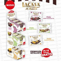 LOTE LACASA GRAGEADOS 3 SABORES 38+4 L00165