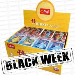 BLACK-WEEK-TREFL-PUZZLES-MAX-20-PZ-PRINC-CARS-24-U