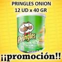 PROMO WEB PRINGLES PEQUEÑA ONION 12x40 GR