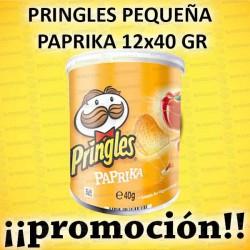 PROMO WEB PRINGLES PEQUEÑA PAPRIKA 12x40 GR