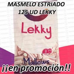 PROMO WEB MASMELO ESTRIADO 125 UD LEKKY