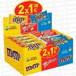LOTE MARS GRAGEAS CHOCO 2x1,30€ 46 UD