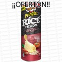 PROMO BOTE PRINGLES RICE FUSION MALASI 165 GR 1 UD