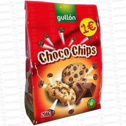 CHOCO-CHIPS-NEGRO-10x200-GR-1EUR-GULLON