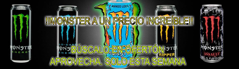 This week Monster in Ofertón