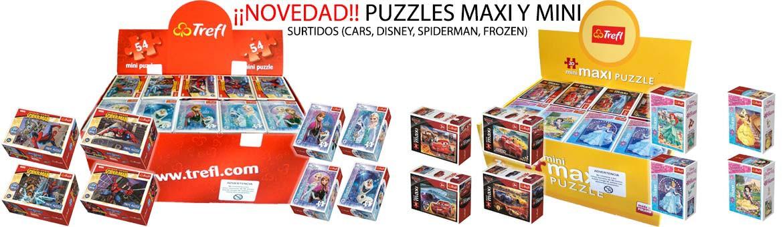 ¡¡Novedad!! Puzzles Maxi y Mini