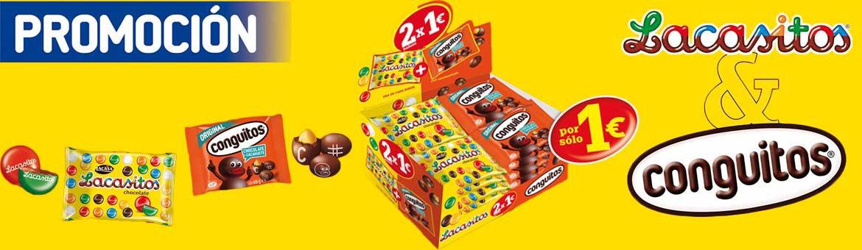 Lot Lacasitos + Conguitos 2x1€