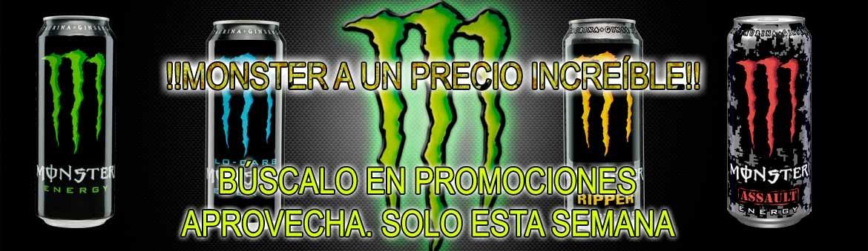 Monster en promoción