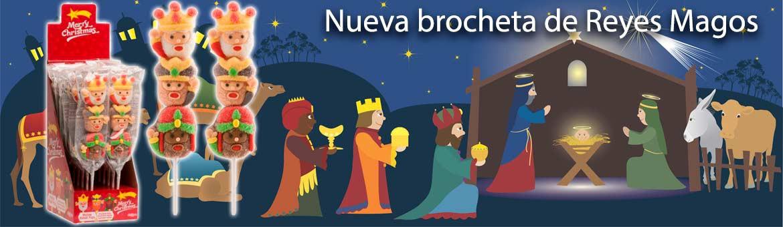 Nueva brocheta con los Reyes Magos