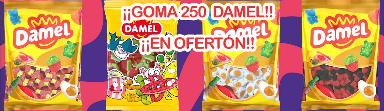 Rubber 250 pcs Damel in Ofertón