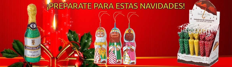 Prepárate para estas navidades