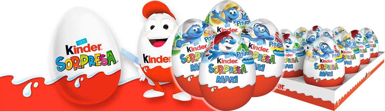 Ya esta aquí el Huevo Kinder Maxi