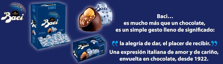 Prueba el chocolate italiano con los nuevos bombones Baci