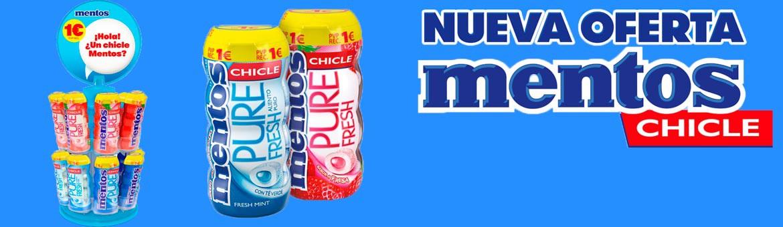 Nuevo pack espiga Mentos Gum