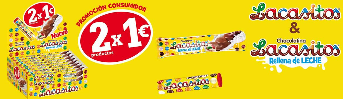 Lote Lacasitos 2x1€