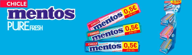 Mentos Gum Pack 0.50 €
