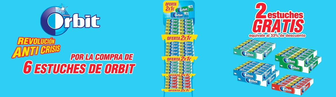 The Orbit 2x1 € lot is here again