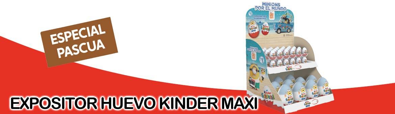 Exhibitor egg kinder special Easter