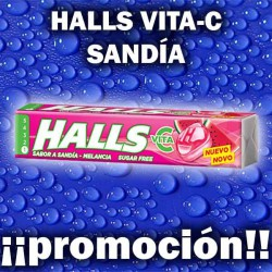 PROMO WEB HALLS VITA-C SANDIA S/AZ 20 UD
