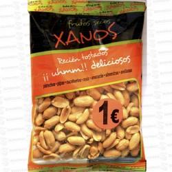 XANOS 1 € CACAHUETE REPELADO FRITO 10x155 GR