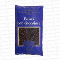 PASAS CON CHOCOLATE 1 KG