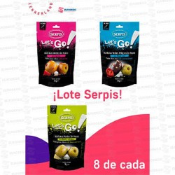LOTE SERPIS ACEITUNAS 24 UD X 70 GR