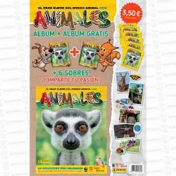 CARTON-ANIMALES-20202-ALBUM--6-SOBRES-PANINI