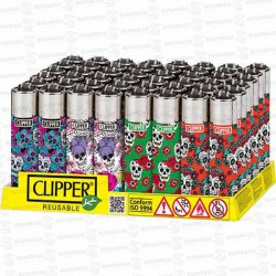 ENCENDEDOR-ROMANTIC-SKULLS-444-CLIPPER