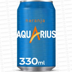 AQUARIUS-NARANJA-24x330-ML