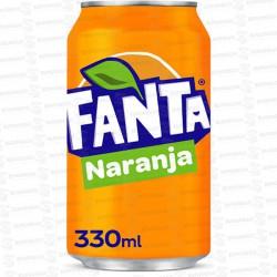 FANTA NARANJA 24x330 ML