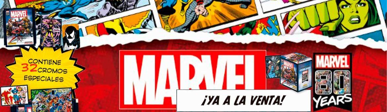 Ya esta aquí la nueva colección de los super héroes de Marvel