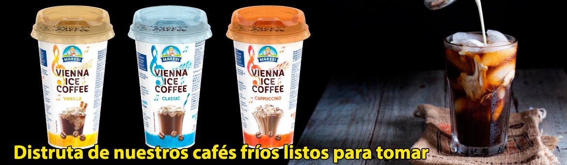 Try our Maresí coffees. The most refreshing option for a boost of energy.
