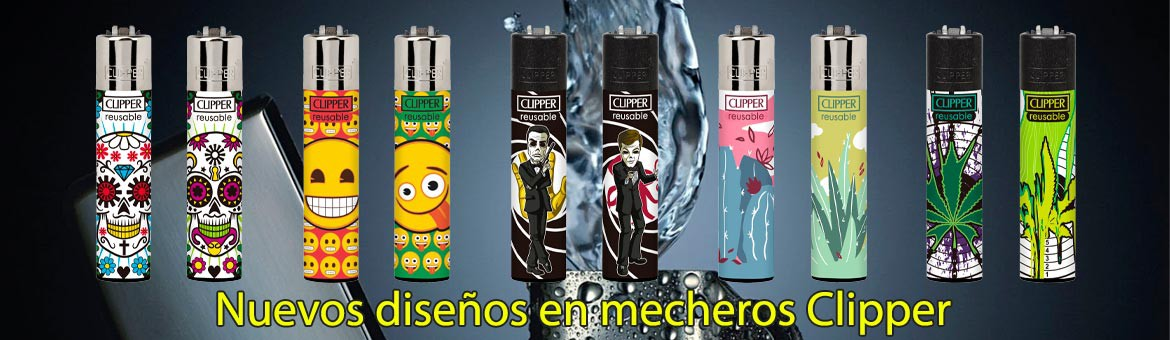 New models of Clipper lighters. Just great