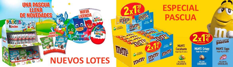 Nuevos lotes ¡Especial Pascua!